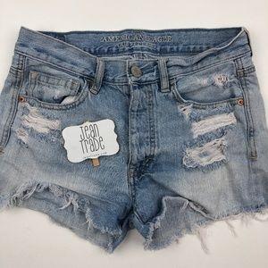 AEO American Eagle Jean Shorts